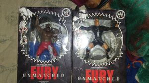 2 Wrestling Collectible Action Figures for Sale in Houston, TX