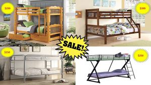 Bunk Beds On Sale!!!! for Sale in Salt Lake City, UT