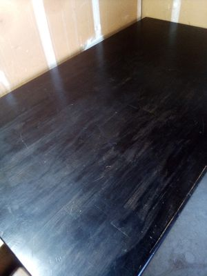 5ft. Black Rustic Style Kitchen Table for Sale in Visalia, CA
