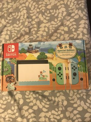 Nintendo switch animal crossing edition for Sale in Owings Mills, MD