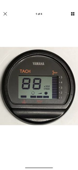 Yamaha Tach Gauge Boat Marine parts for Sale in Miami, FL