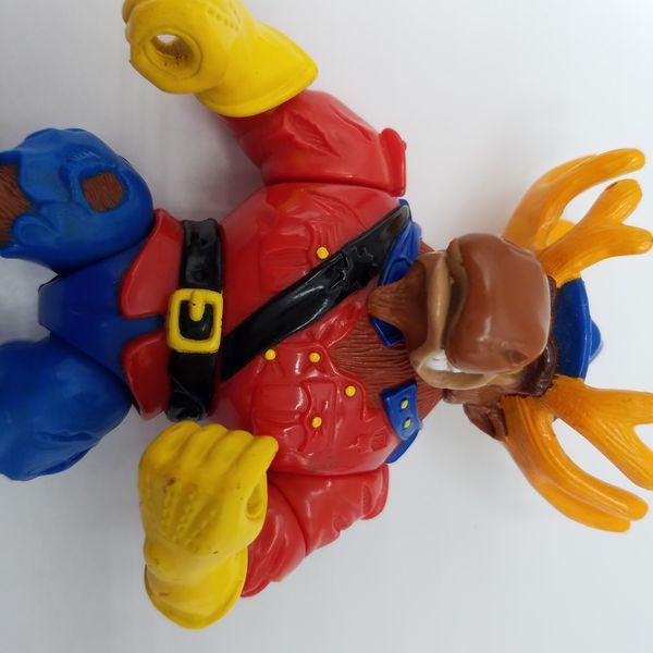 Monty Moose 1992 Figure TMNT Teenage Mutant Ninja Turtles