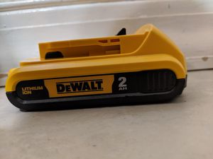 New DeWalt 20v 2 AH DCB203 Battery 2AH for Sale in CORNWALL Borough, PA