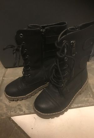 Girl boots size 12 for Sale in Garden Grove, CA