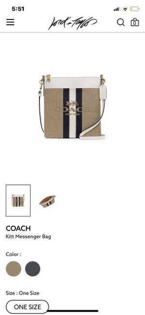 Authentic coach messenger bag. for Sale in Fort Worth, TX