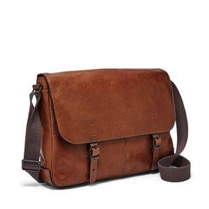 Fossil Genuine Leather Buckner Messenger Bag for Sale in Las Vegas, NV