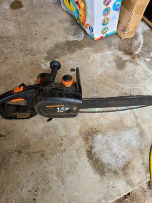 remington 1.5 hp electric chainsaw mod 150 for Sale in Round Rock, TX