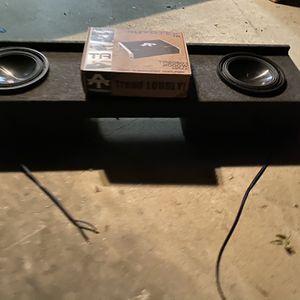 $350 No Less No Menos / Alpine Type S 10 Subs / New 2000 Watt Monoblock Amp W/ Bass Knob / Sub Box For 99-06 for Sale in Sanger, CA