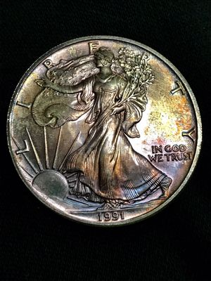 American Silver Eagle 1991 for Sale in St. Louis, MO