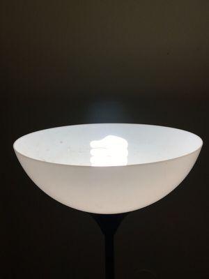 Black 10/10 tall living room lamp for Sale in Houston, TX