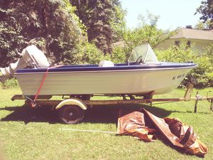 1959 15ft steury 35hp for Sale in Macomb, MI
