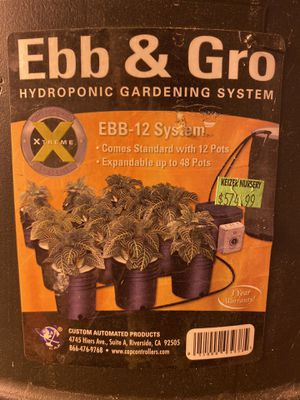 Ebb and gro hydroponic gardening system for Sale in Portland, OR