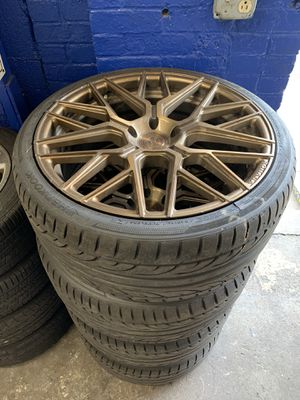 """20"""" Rohanna Rims 5x120 Staggered for Sale in Paterson, NJ"""