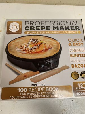 Professional Crepe Maker for Sale in Waynesburg, PA