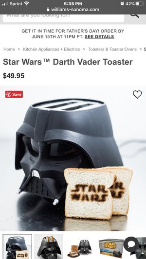Death Vader Toaster for Sale in Orient, OH