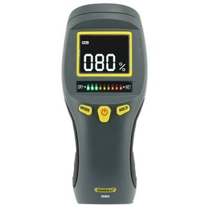 General Tools Professional Digital Pinless Moisture Meter with Backlit LCD RETAIL $44.97 for Sale in Garland, TX