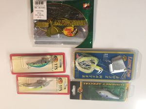 New fishing lures and plastic bait. #5 package for Sale in Silver Spring, MD