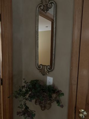 Wall mirror and scones for Sale in West Chicago, IL