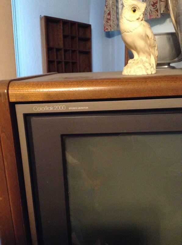 Rca Swivel Mount Cabinet Tv For Sale In Harper Woods Mi