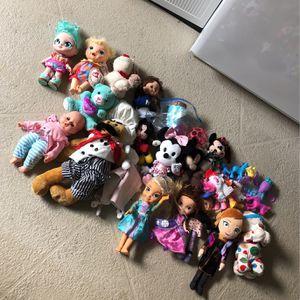 Dolls , Stuffed Animals , Kid Toys (Disney, Baby Dolls, Unicorns) for Sale in Hernando, FL