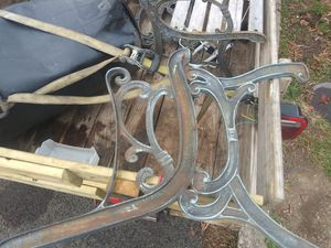 Diyer projects bench ends and table for Sale in Clarksburg, WV