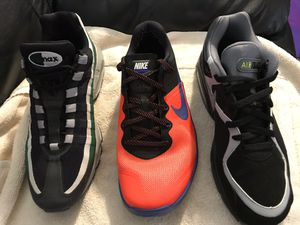 Air max men's shoes sz 9 to 9.5 for Sale in Portland, OR