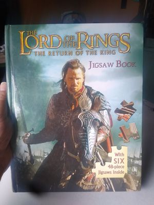 Lord of the Rings puzzle book for Sale in Santa Maria, CA