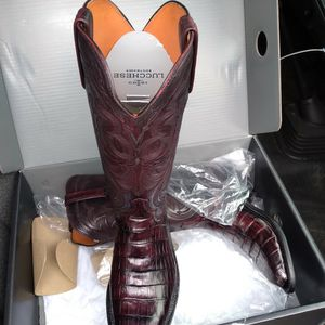 7.5 D Lucchese Boots This Boots Are Brand New Still In The Box for Sale in Dallas, TX