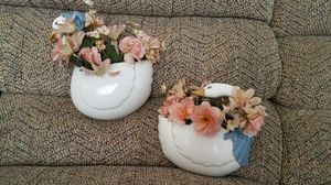 Home Interior Duck wall plaques with flowers for Sale in Garden Grove, CA
