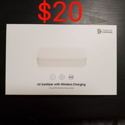 Samsung Wireless Charger / Charging - UV Sanitizer - White for Sale in San Jose,  CA