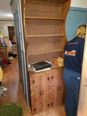 Solid wood cabinet/shelf for Sale in Hammonton, NJ