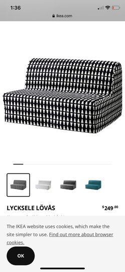 LYCKSELE sleeper sofa from ikea for Sale in Moon Township,  PA
