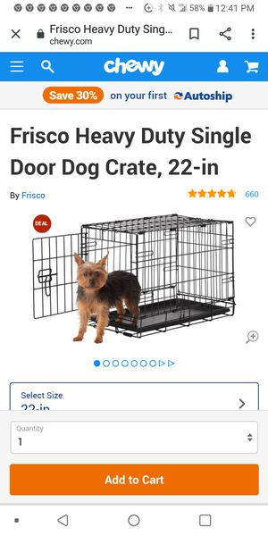 Large dog cage for Sale in Irving, TX