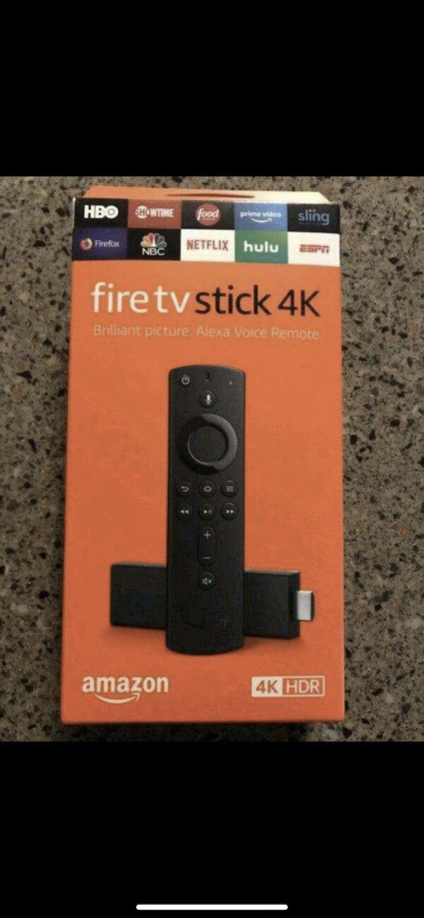 All New HDR Unlocked Amazon Fire TV Stick with Voice+Volume Remote