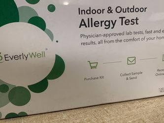 #62 Every Well Indoor And Outdoor Allergy Test for Sale in Hudson,  OH