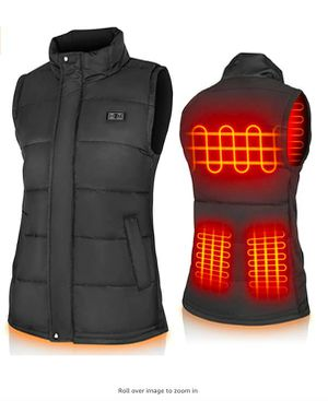 Heated Vest for Men and Women Electric Warm Vest Adjustable Heated Jacket for Outdoor for Sale in Rancho Cucamonga, CA