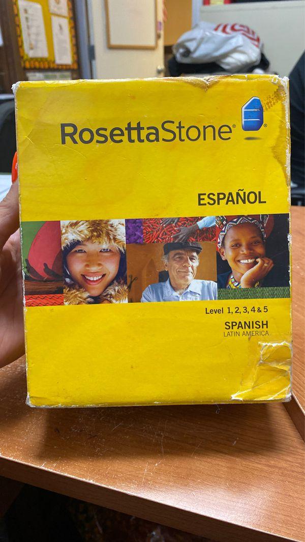 Rosetta Stone Español Level 1,2,3,4&5