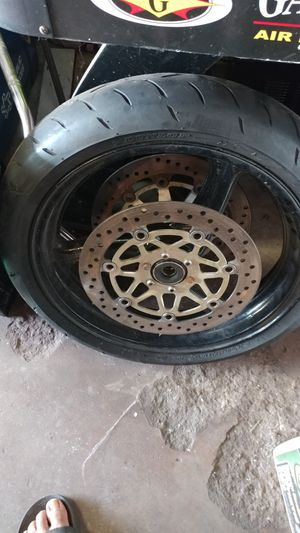 01 honda cbrf4i. Front rim n rotors for Sale in Maywood, IL