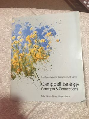 TCC Bio 160 textbook for Sale in Tacoma, WA