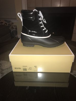 Michael Kors Easton Lace-up Rain Bootie for Sale in Raleigh, NC