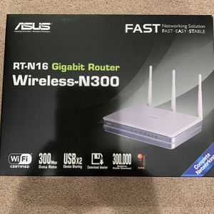 ASUS RT-N16 Wireless Router excellent condition for Sale in Naperville, IL