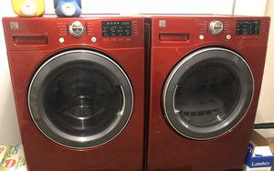 2018 Kenmore steam washer and dryer like new! for Sale in Corona, CA