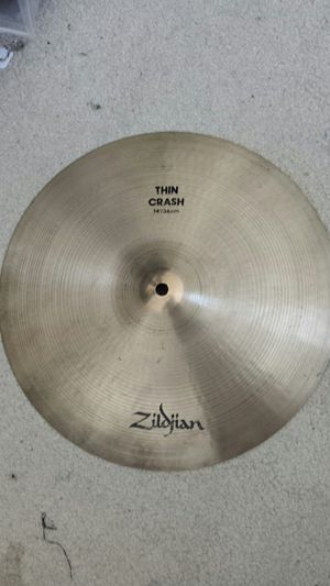 Zildjian 14 thin crash cymbal for Sale in Cypress, CA