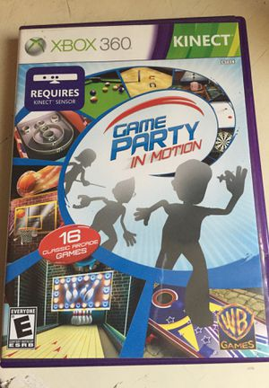 XBOX 360 Game Party in Motion for Sale in North Fort Myers, FL