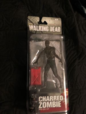 Charred zombie collectible action figure for Sale in South Gate, CA