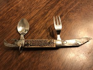Vintage Pocket Knife Fork And Spoon for Sale in Colorado Springs, CO