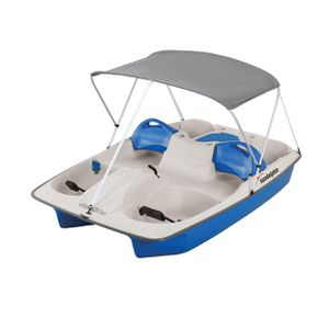 Sun Dolphin 5 Seat Sun Slider Pedal Boat with Canopy - Blue for Sale in South El Monte, CA