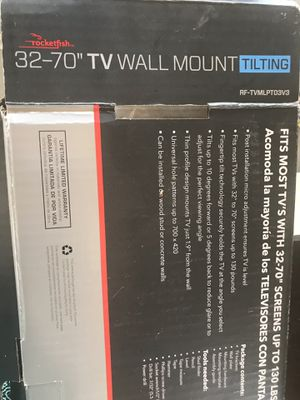 32 to 70 inch TV Mount for Sale in Moreno Valley, CA