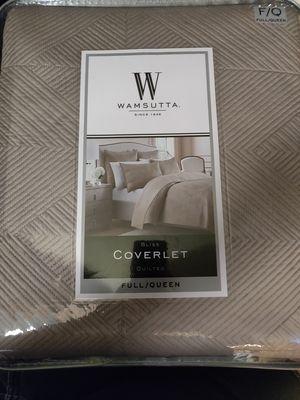 Wamsutta Full/Queen Coverlet for Sale in Jacksonville, FL