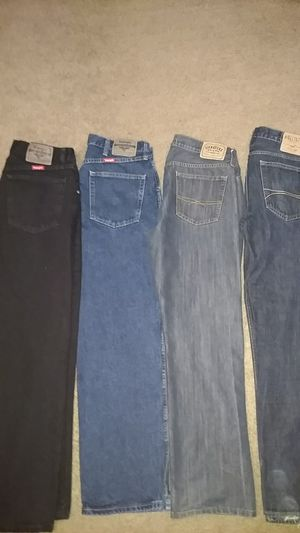 Brand new jeans, wranglers, Levi Strauss, and hollister for Sale in West Palm Beach, FL